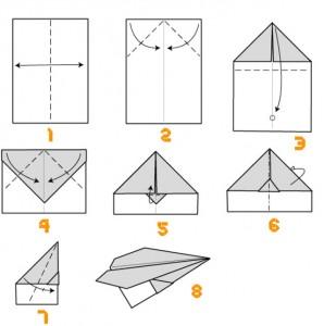 Tuto avion en papier planeur
