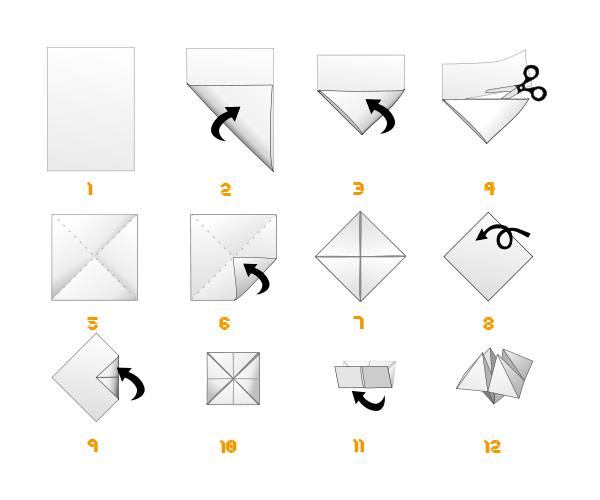 diagramme cocotte en papier origami day origami day chaque jour son origami origami day. Black Bedroom Furniture Sets. Home Design Ideas