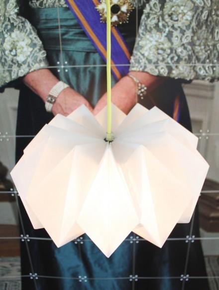 Fabriquer une lampe en origami