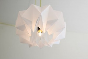 Votre lampe en origami