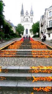 Expo sur escalier de Mademoiselle Maurice