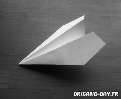 Origami avion planeur