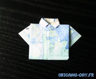 Origami Chemise 20€