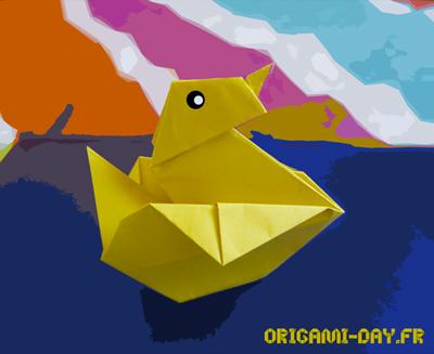 Origami Canard