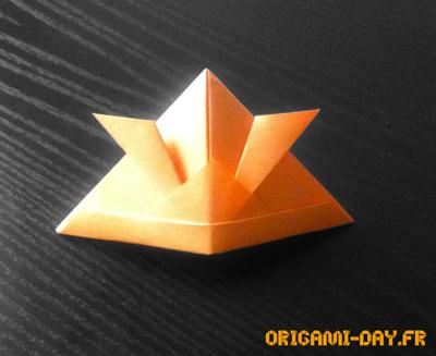 Origami Casque Samourai