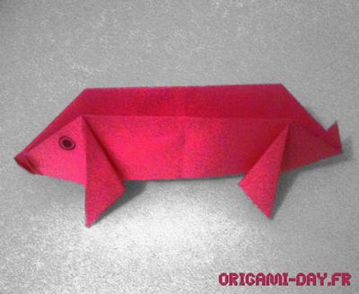Origami Cochon