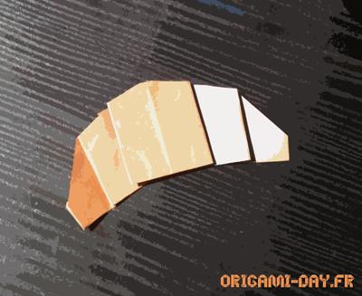 Origami Croissant