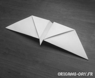Origami Papillon qui vol