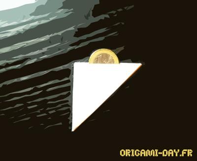 Origami pour tour de magie