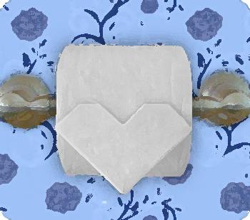 Origami papier toilette #4