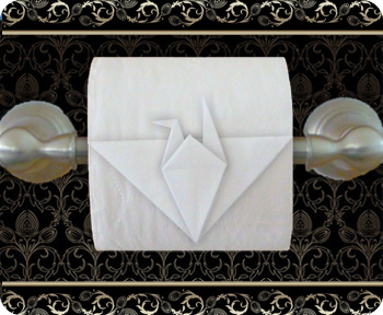 origami papier toilette 7 origami day chaque jour son origami. Black Bedroom Furniture Sets. Home Design Ideas