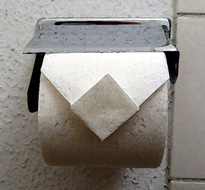 Origami papier toilette #2