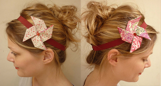 Headband en origami